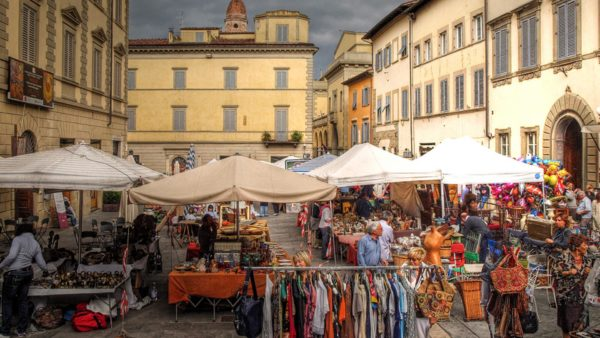 Flea markets & food markets